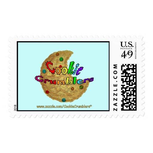 Cookie Crumblers Postage Stamp