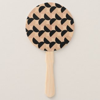 Cookie Cutter Design on Hand Fan
