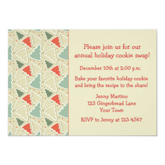Cookie Cutters, Cookie Exchange Card