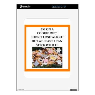 COOKIE DECALS FOR iPad