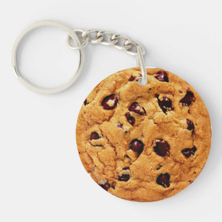 Cookie Double-Sided Round Acrylic Keychain