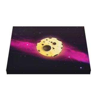 Cookie Dough Astroid Canvas Print