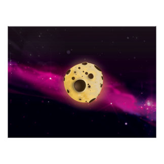 Cookie Dough Astroid Poster