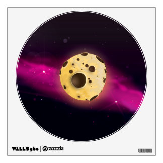 Cookie Dough Astroid Wall Decal