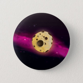 Cookie Dough Planet Button