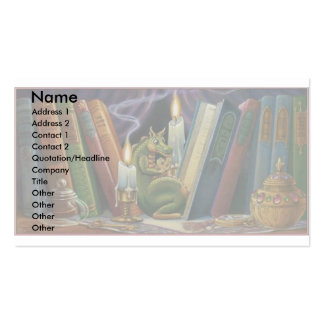 Cookie Dragon Double-Sided Standard Business Cards (Pack Of 100)