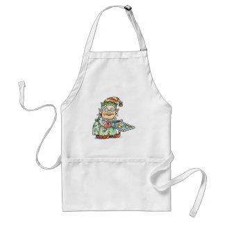 Cookie Elf Adult Apron