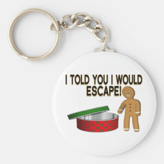 Cookie Escape Keychain