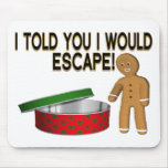 Cookie Escape Mouse Pad