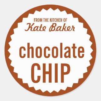 Cookie Exchange Bake Sale Label Template