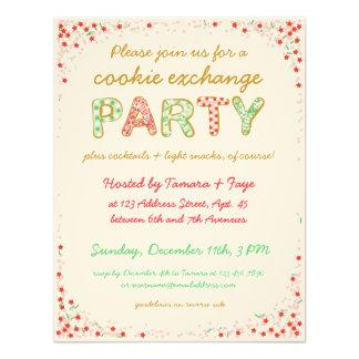 Cookie Exchange Swap Party Invite w/ Instructions