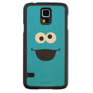 Cookie Face Art Carved® Maple Galaxy S5 Slim Case