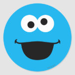 Cookie Face Art Classic Round Sticker
