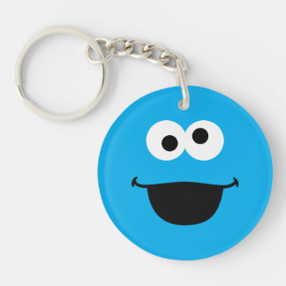 Cookie Face Art Keychain