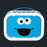 """Cookie Face Art Lunch Box<br><div class=""""desc"""">Guess who? It&#39;s Cookie Monster face art!        This item is recommended for ages 2 . &#169;  2014 Sesame Workshop. www.sesamestreet.org</div>"""