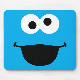 Cookie Face Art Mouse Pad