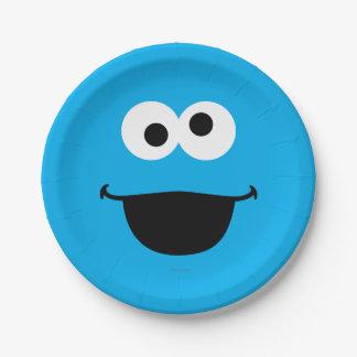 Cookie Face Art Paper Plate