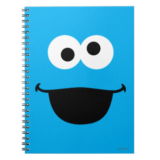 Cookie Face Art Spiral Notebook