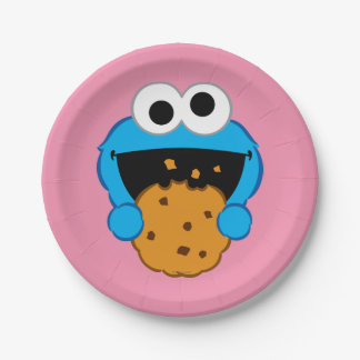 Cookie Face Paper Plate