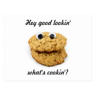 Cookie Face Postcard