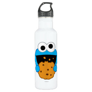 Cookie Face Stainless Steel Water Bottle