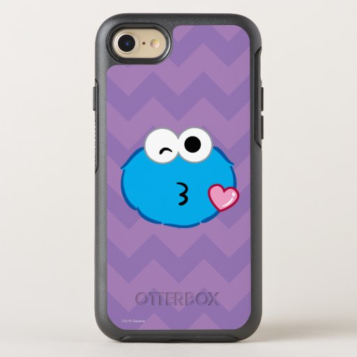 Cookie Face Throwing a Kiss OtterBox Symmetry iPhone SE/8/7 Case