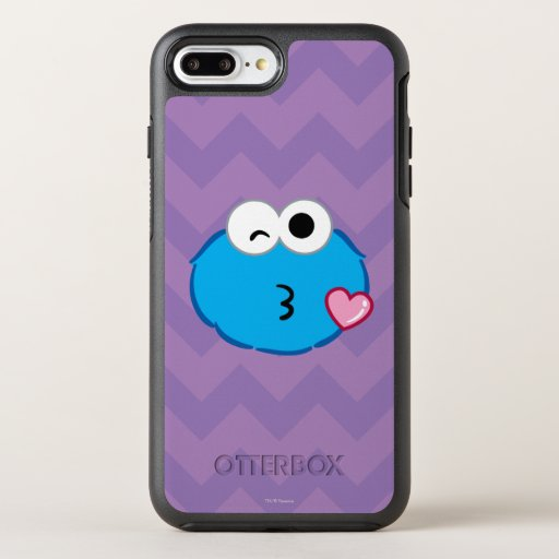 Cookie Face Throwing a Kiss OtterBox Symmetry iPhone 8 Plus/7 Plus Case