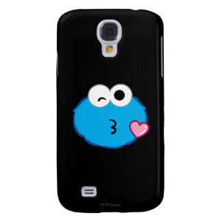 Cookie Face Throwing a Kiss Samsung S4 Case