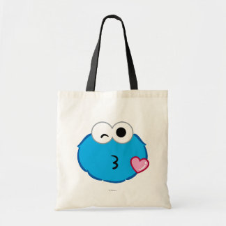 Cookie Face Throwing a Kiss Tote Bag