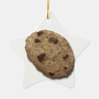 Cookie graphic for all you cookie lovers! ceramic ornament