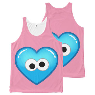 Cookie Heart All-Over-Print Tank Top