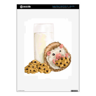 Cookie Hog iPad 3 Skins