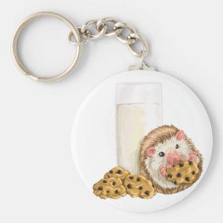 Cookie Hog Keychain