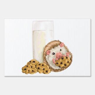 Cookie Hog Lawn Sign