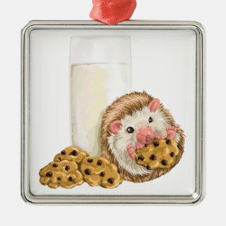 Cookie Hog Metal Ornament