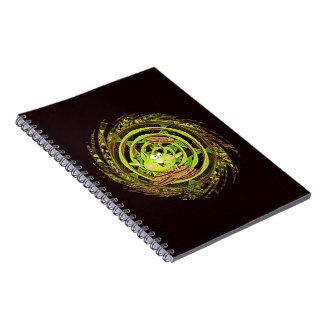 Cookie Hoppy Frog Spiral Notebook