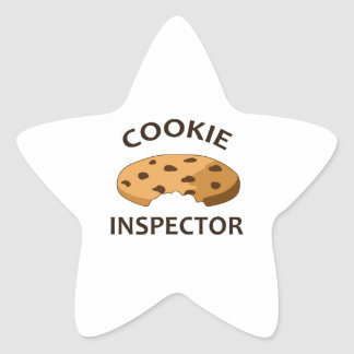 COOKIE INSPECTOR STAR STICKERS