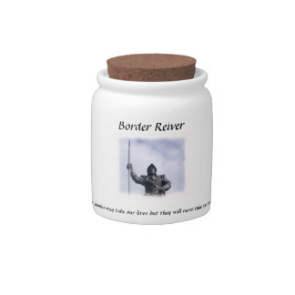 Cookie Jar Border Reiver Theme Candy Jars