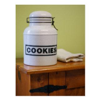 Cookie Jar Postcard