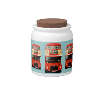 Cookie Jar with London Theme Candy Jars
