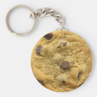 Cookie Keyring 0001 Basic Round Button Keychain