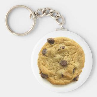Cookie Keyring 0002 Basic Round Button Keychain