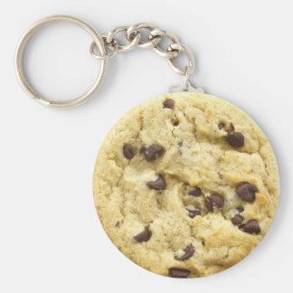 Cookie Keyring 0008 Basic Round Button Keychain