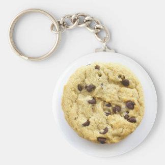 Cookie Keyring 0009 Basic Round Button Keychain