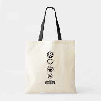 Cookie Love Cookie Monster Canvas Bags