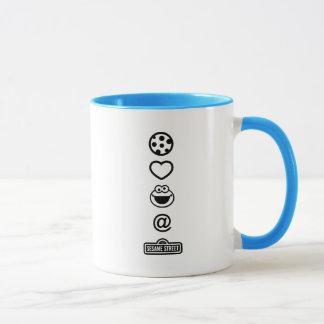 Cookie Love Cookie Monster Mug