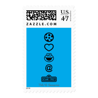 Cookie Love Cookie Monster Postage