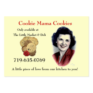 Cookie Mama Cookies Business Cards