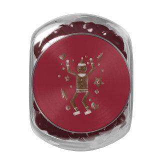 Cookie Martzkin Jelly Belly™ Glass Candy Jar