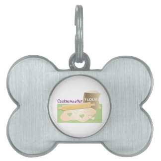 Cookie Master Pet Name Tags